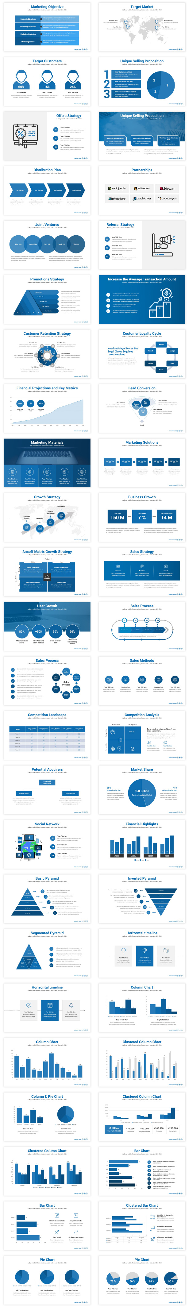Best Marketing Plan PowerPoint Presentation Template 2020
