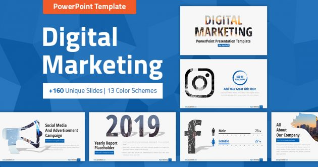 Marketing Plan PowerPoint Presentation Template - SpriteIT