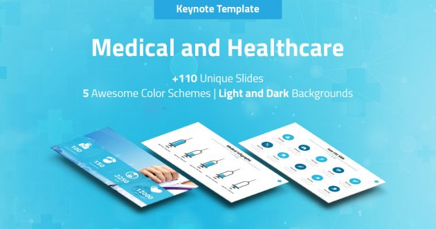 Medical and Healthcare Keynote Pitch Deck
