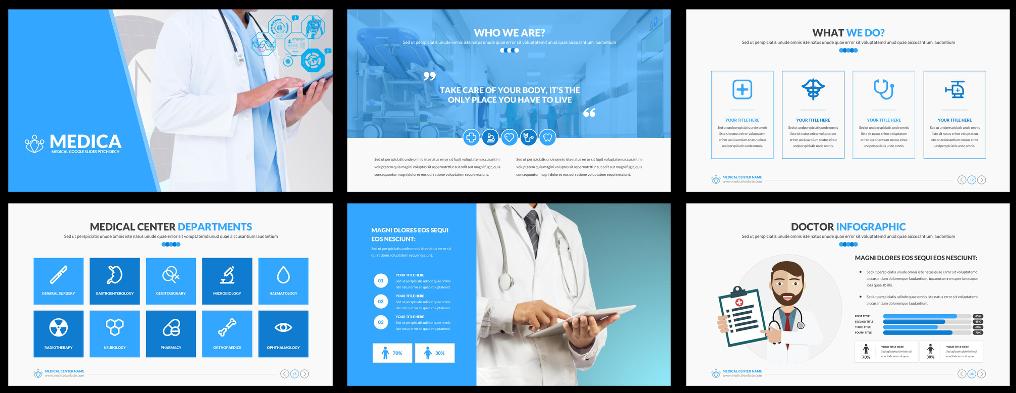 Awesome Healthcare Google Slides Presentation