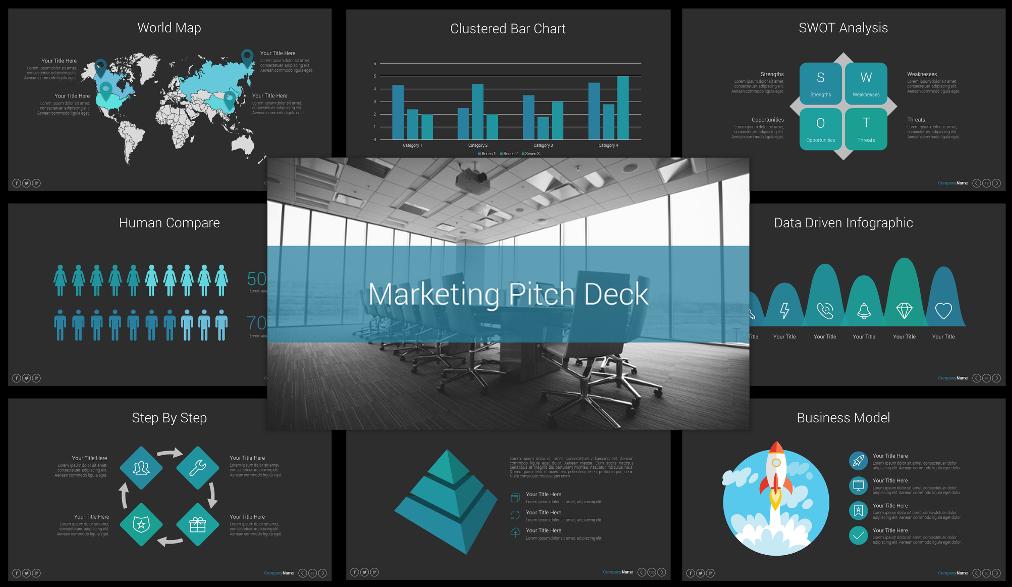 Best Marketing Pitch Deck PPT