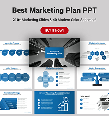 Best Marketing Plan PowerPoint Presentation Template