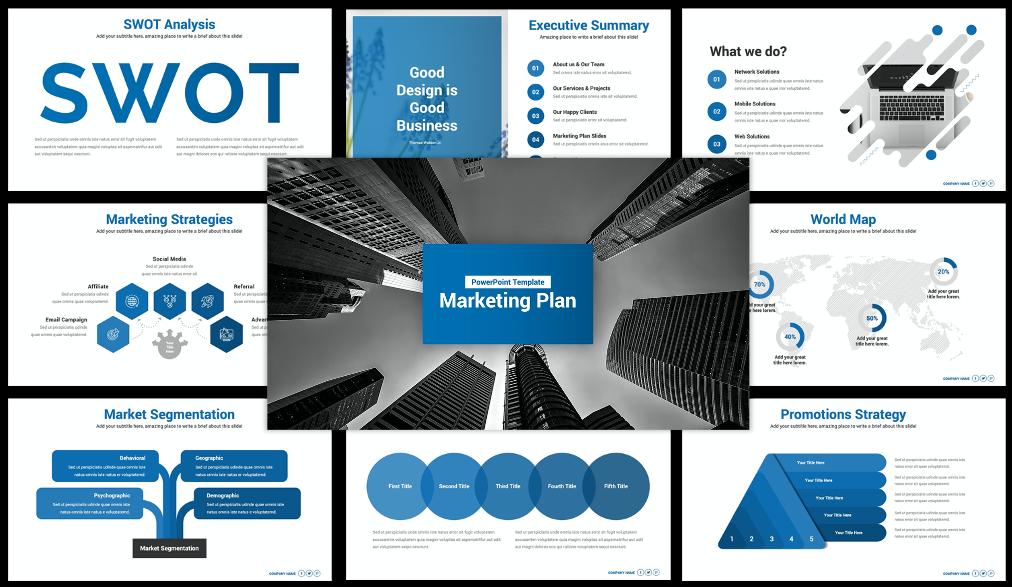 Best Marketing Plan PowerPoint Presentation Template